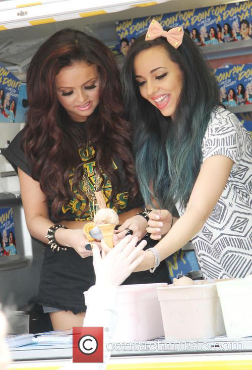 jesy nelson jade thirlwall little mix serve ice 3646409