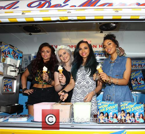 Jesy Nelson, Perrie Edwards, Leigh Anne Pinnock and Jade Thirlwall 7