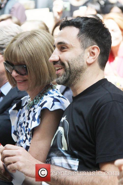 Roberto Tisei and Anna Wintour 2
