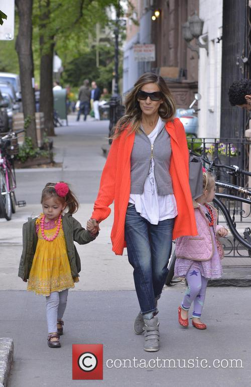 Sarah Jessica Parker, Marion Broderick and Tabitha Broderick 6