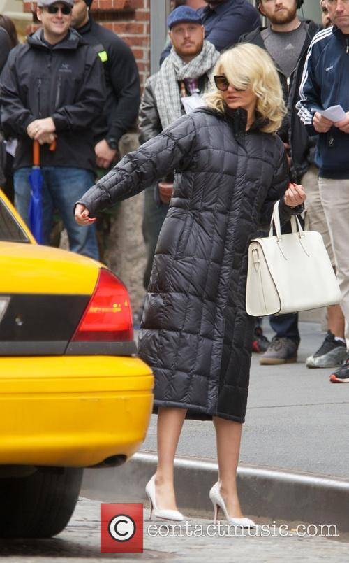 Celebrities on the set of 'The Other Woman'