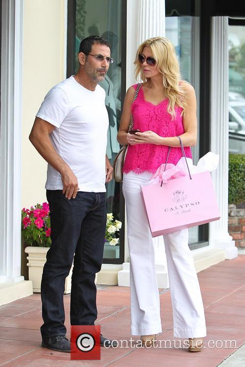 Brandi Glanville Shopping On Sunset Boulevard