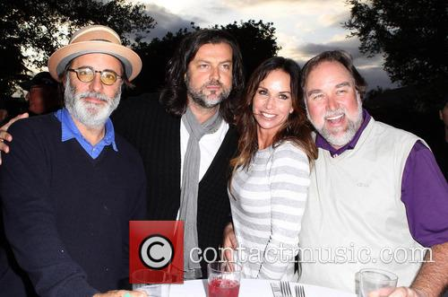 Andy Garcia, Richard Karn, Debbe Dunning and Guest 3