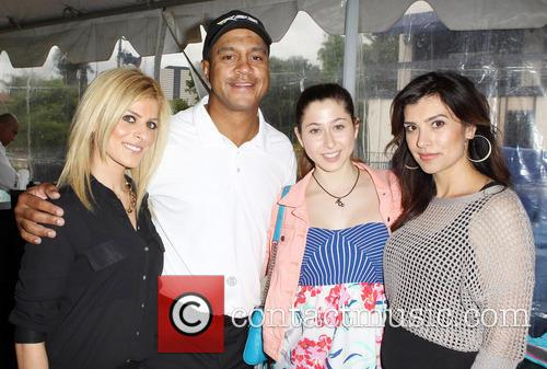 George Lopez, Elizabeth Small and Guests 8