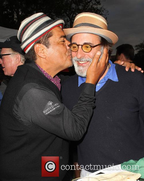 George Lopez and Andy Garcia 3