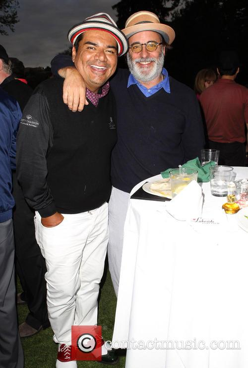 George Lopez, Andy Garcia, Lakeside Golf Club