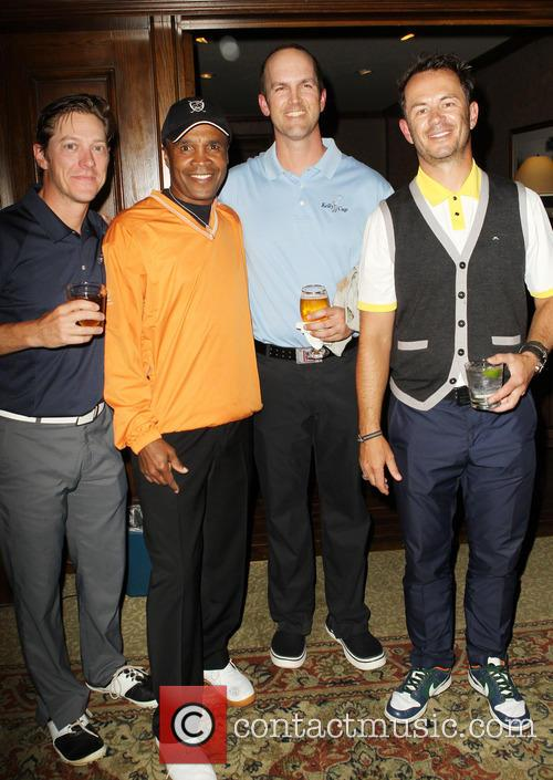 Kevin Rahm, Sugar Ray Leonard, Greg Ellis and Guest 2