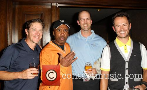 Kevin Rahm, Sugar Ray Leonard, Greg Ellis and Guest