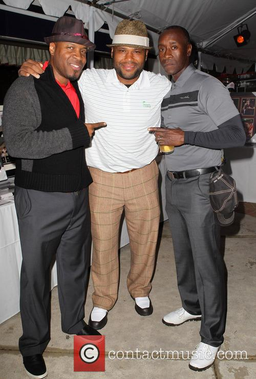 Don Cheadle, Anthony Anderson and Michael Bearden 5