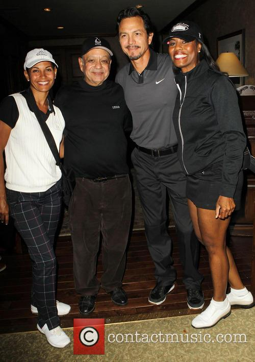 Salli Richardson, Cheech Marin, Benjamin Bratt, Omarosa Manigault, Lakeside Golf Club