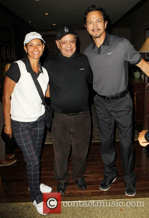 Salli Richardson, Cheech Marin and Benjamin Bratt 3