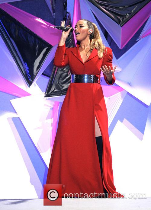 Leona Lewis performs live in concert