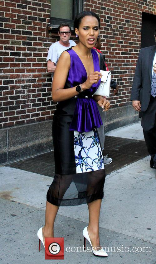 Kerry Washington, Ed Sullivan Theater, The Late Show