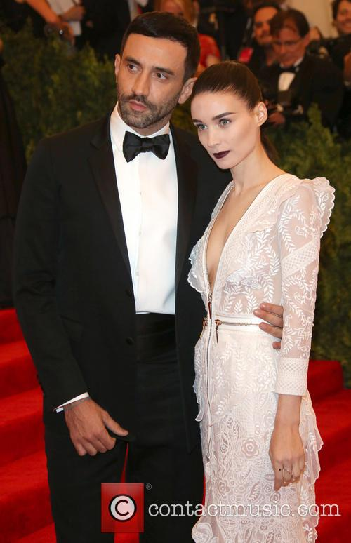 Rooney Mara and Designer Riccardo Tisci 6