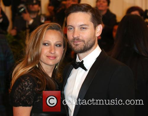 Tobey Maguire and Jennifer Meyer Maguire 2
