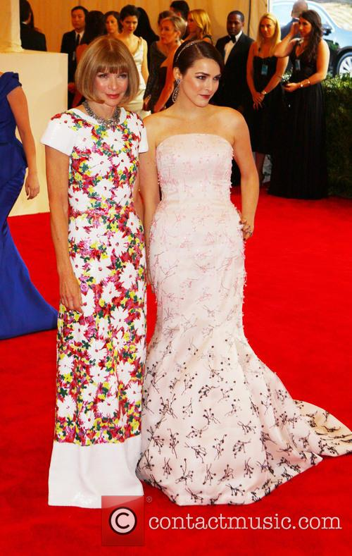 Anna Wintour and Bee Shaffer 5
