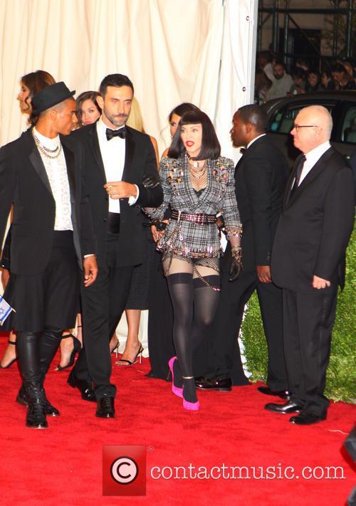 Brahim Zaibat, Madonna and Riccardo Tisci 1