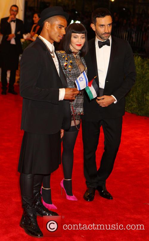 Brahim Zaibat, Madonna and Riccardo Tisci 2