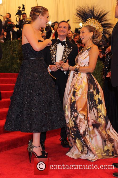 Jennifer Lawrence and Sarah Jessica Parker 1