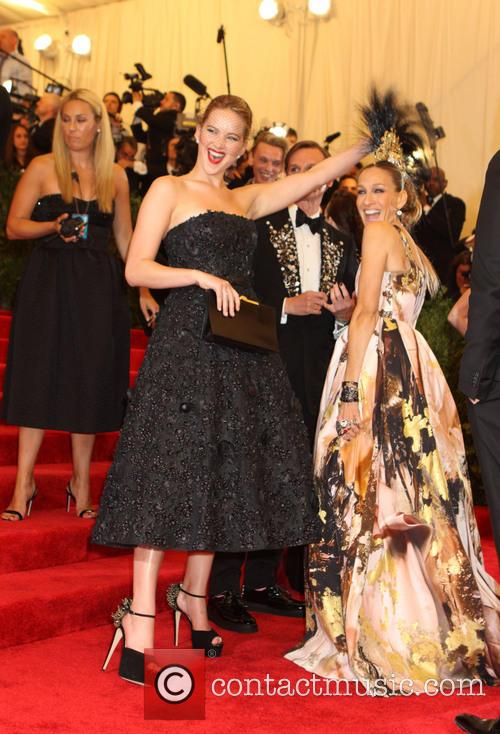 Jennifer Lawrence and Sarah Jessica Parker