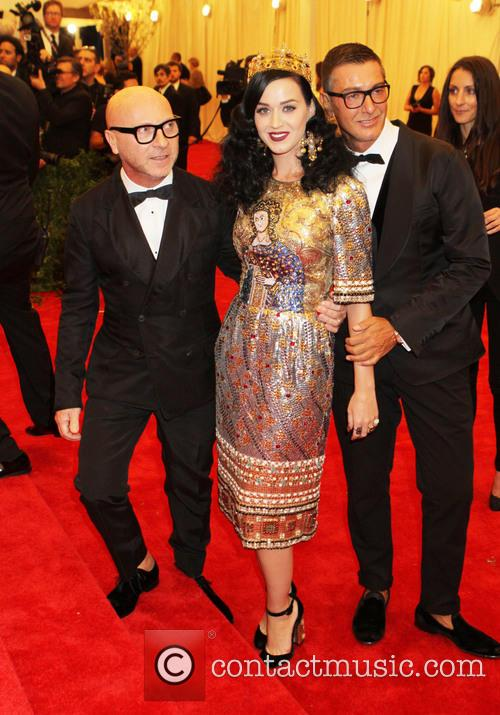 Stefano Gabbana, Katy Perry and Domenico Dolce 1