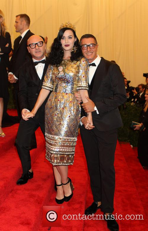 Stefano Gabbana, Katy Perry and Domenico Dolce 2