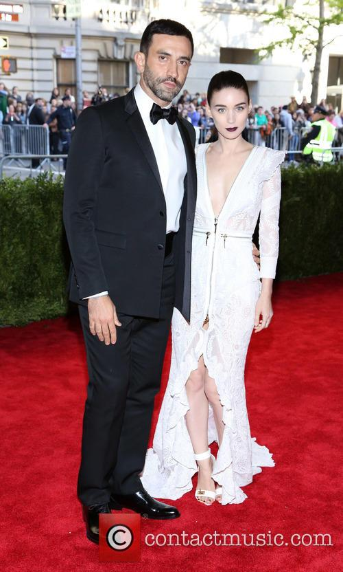 Riccardo Tisci and Rooney Mara 3