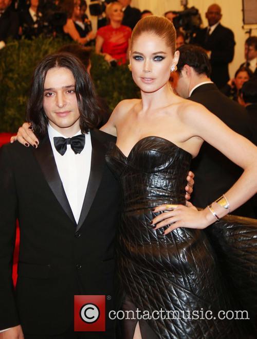 Doutzen Kroes and Olivier Theyskens 1