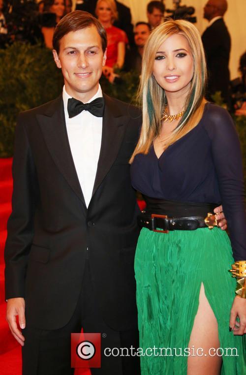 Ivanka Trump and Jared Kushner at Costume Institute Gala