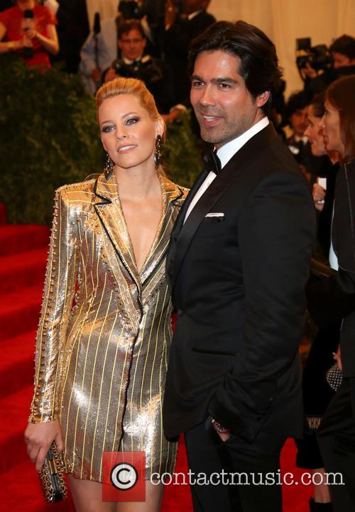 Elizabeth Banks and Brian Atwood