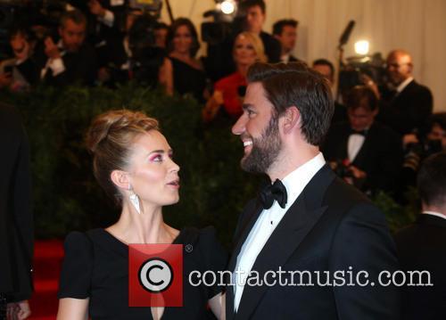Emily Blunt and Husband John Krasinski 2