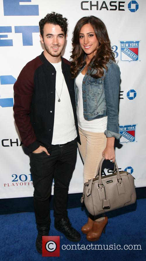Kevin and Daniella Jonas