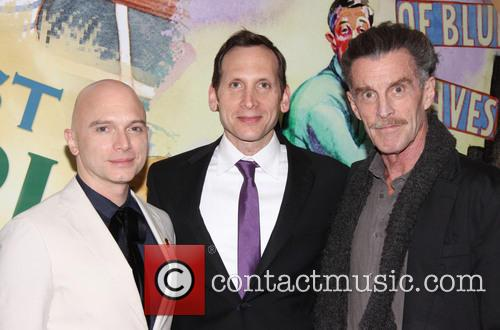 Michael Cerveris, Stephen Kunken and John Glover 3