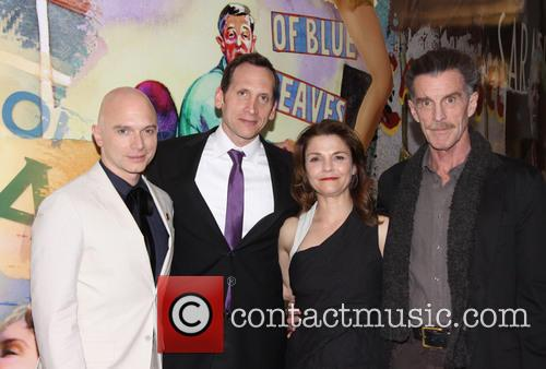 Michael Cerveris, Stephen Kunken, Kathryn Erbe and John Glover 4