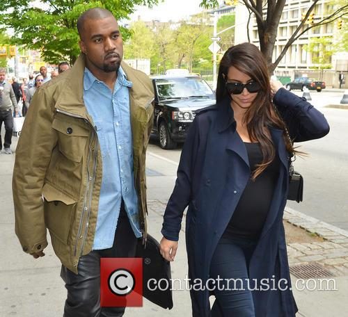 Kim Kardashian and Kanye West 8