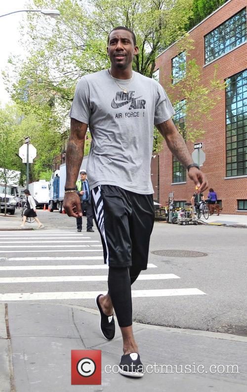 Amar'e Stoudemire seen out and about