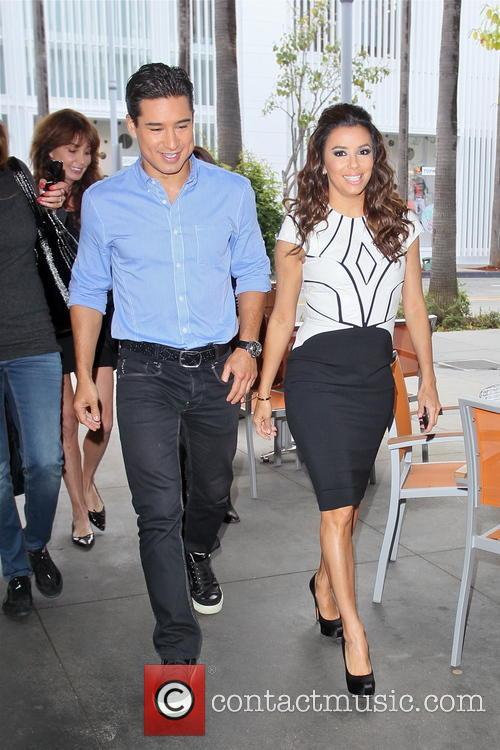 Eva Longoria and Mario Lopez 9
