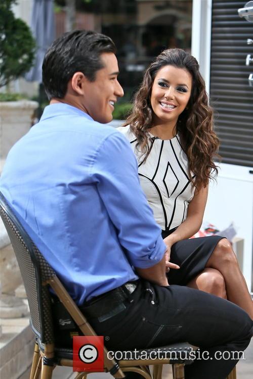 Eva Longoria and Mario Lopez 11
