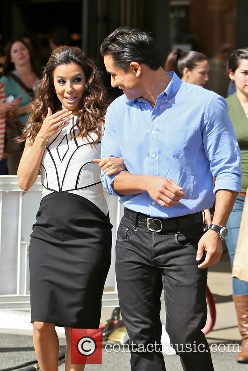 Eva Longoria and Mario Lopez 12