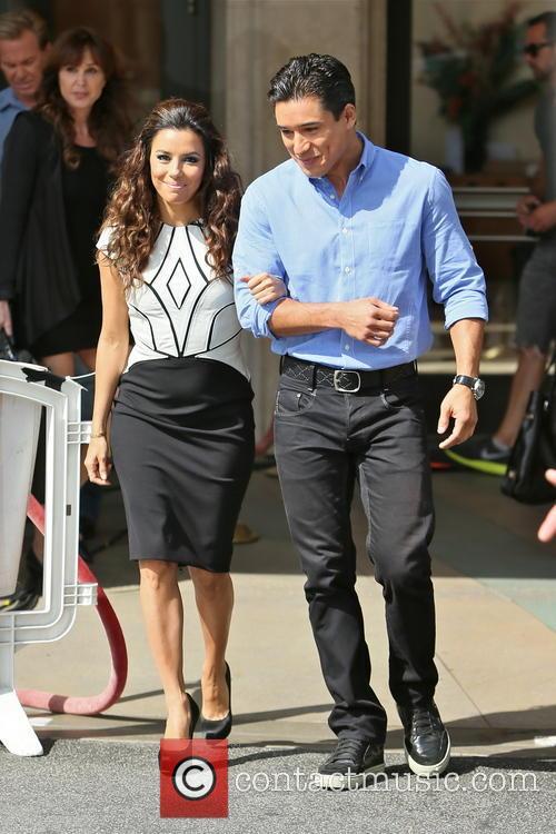 Eva Longoria and Mario Lopez 14