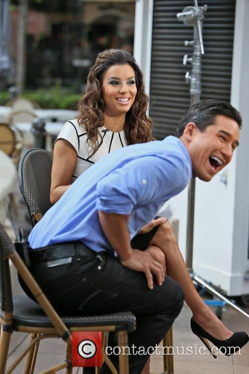 Eva Longoria and Mario Lopez 19