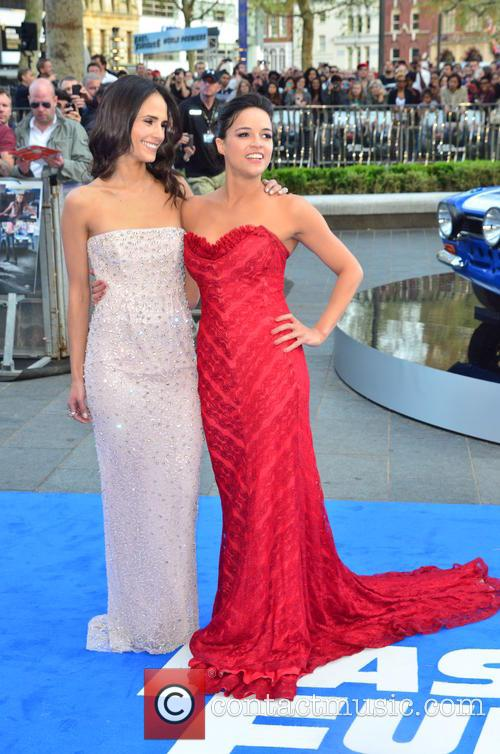 Jordana Brewster, Michelle Rodriguez, Empire Leicester Square