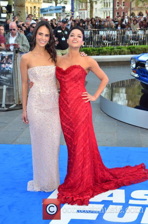 Jordana Brewster and Michelle Rodriguez 1