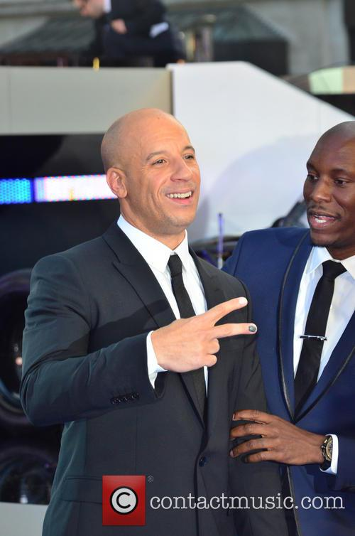 Vin Diesel, Tyrese Gibson, Empire Leicester Square