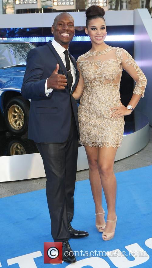 Tyrese Gibson and Krystal 6