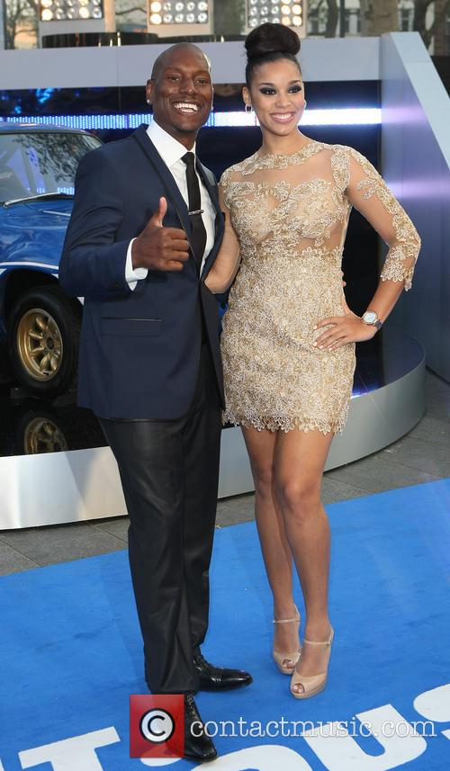 Tyrese Gibson and Krystal 7