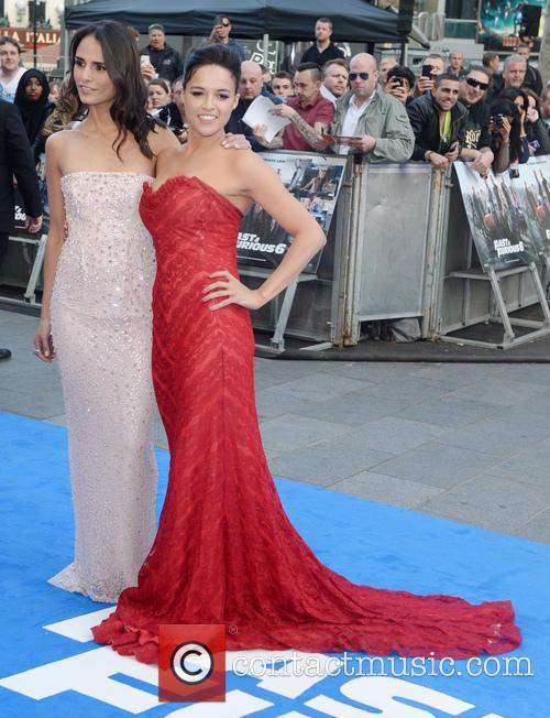 Jordana Brewster and Michelle Rodriguez 2