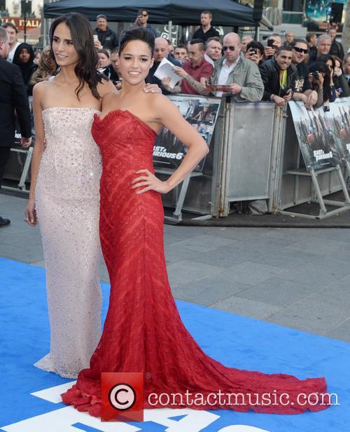 Jordana Brewster, Michelle Rodriguez, Empire Leicester Square