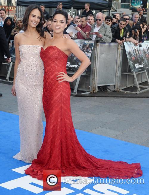 Jordana Brewster and Michelle Rodriguez 3