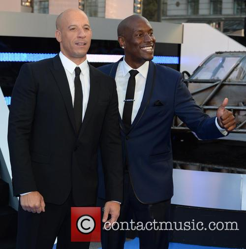 Vin Diesel and Tyrese Gibson 4